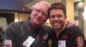 Grandmaster Micheal Kinney karate st. petersburg florida and sifu justin och wing chun kung fu