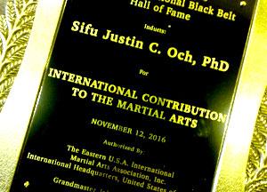 international contribution to the martial arts sifu justin och
