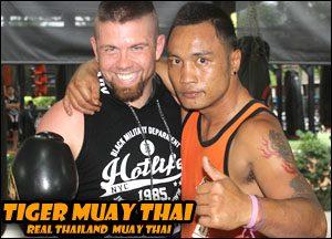 "Kru Warit ""Ritt"" Wanchai, Sifu Justin Och, tiger muay thai, florida"