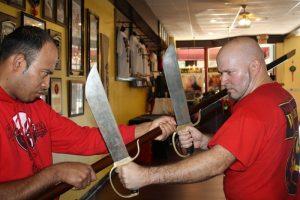 Wing Chun Butterfly Swords