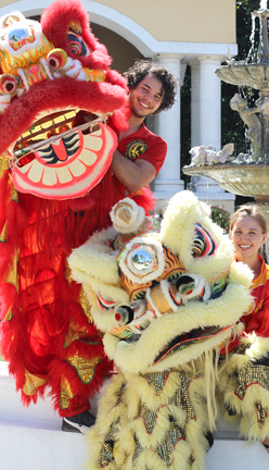 Chinese New Year in Tampa Sifu Och Wing Chun Kung Fu Chinese New Year Lion dance