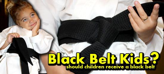 black belt kids, kids black belt, kids, black belt, ranking, mcdojo, bullshit martial arts