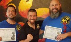 Tampa Wing Chun, Ryan Beck, wing chun certificate, wing chun diploma, sifu och wing chun,