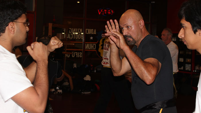Competition Wing Chun boxing