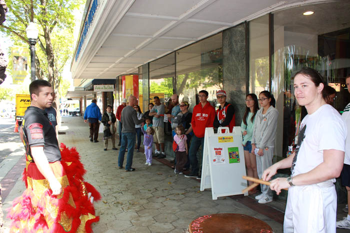 Chinese New Year at Explorations V Museum