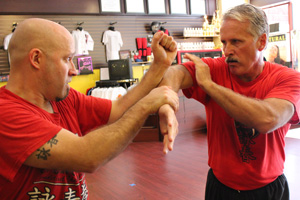 sifu och justin och lakeland self defense kung fu wing chun