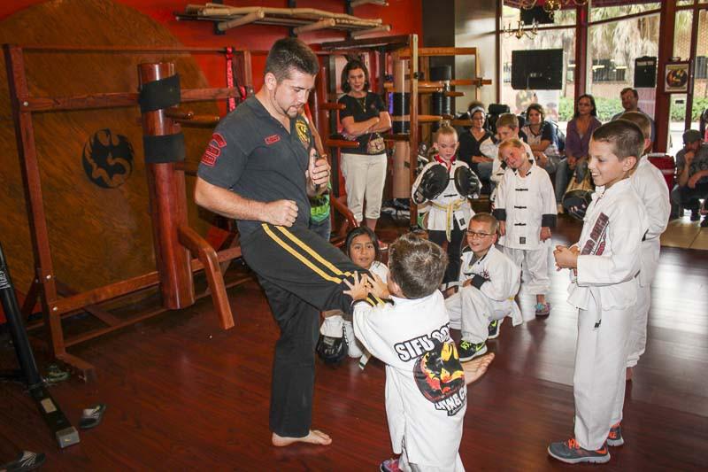 kids classes Sifu Och training