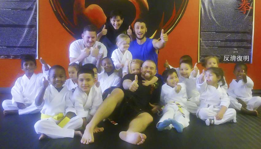 Little Lions preschool martial arts
