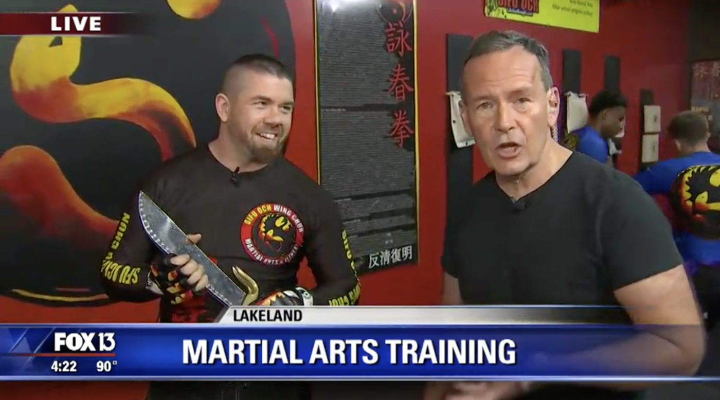 Fox News, Fox 13, Lakeland News, Fox 13 News, Wing Chun Kung Fu, Lakeland, Florida, Polk County, FL
