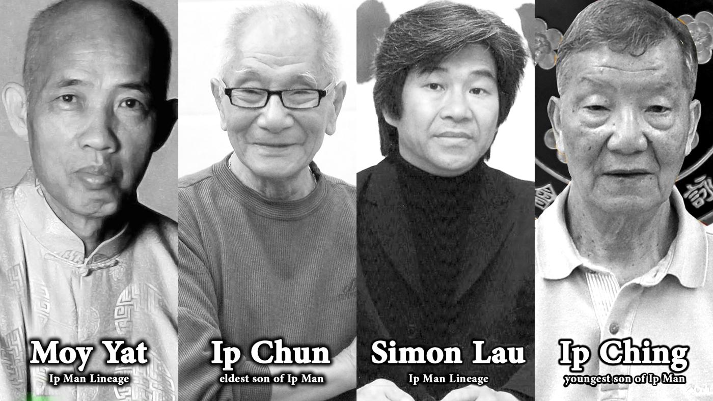 Ip Man, Ip Chun, Ip Ching, Moy Yat, Simon Lau, Lineage, Wing Chun Lineage