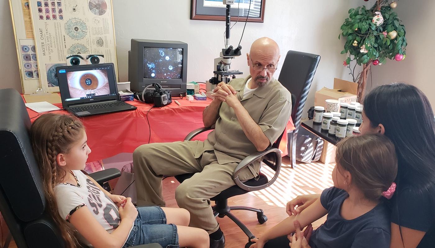 Dr Nelson Rios Herbology Iridology