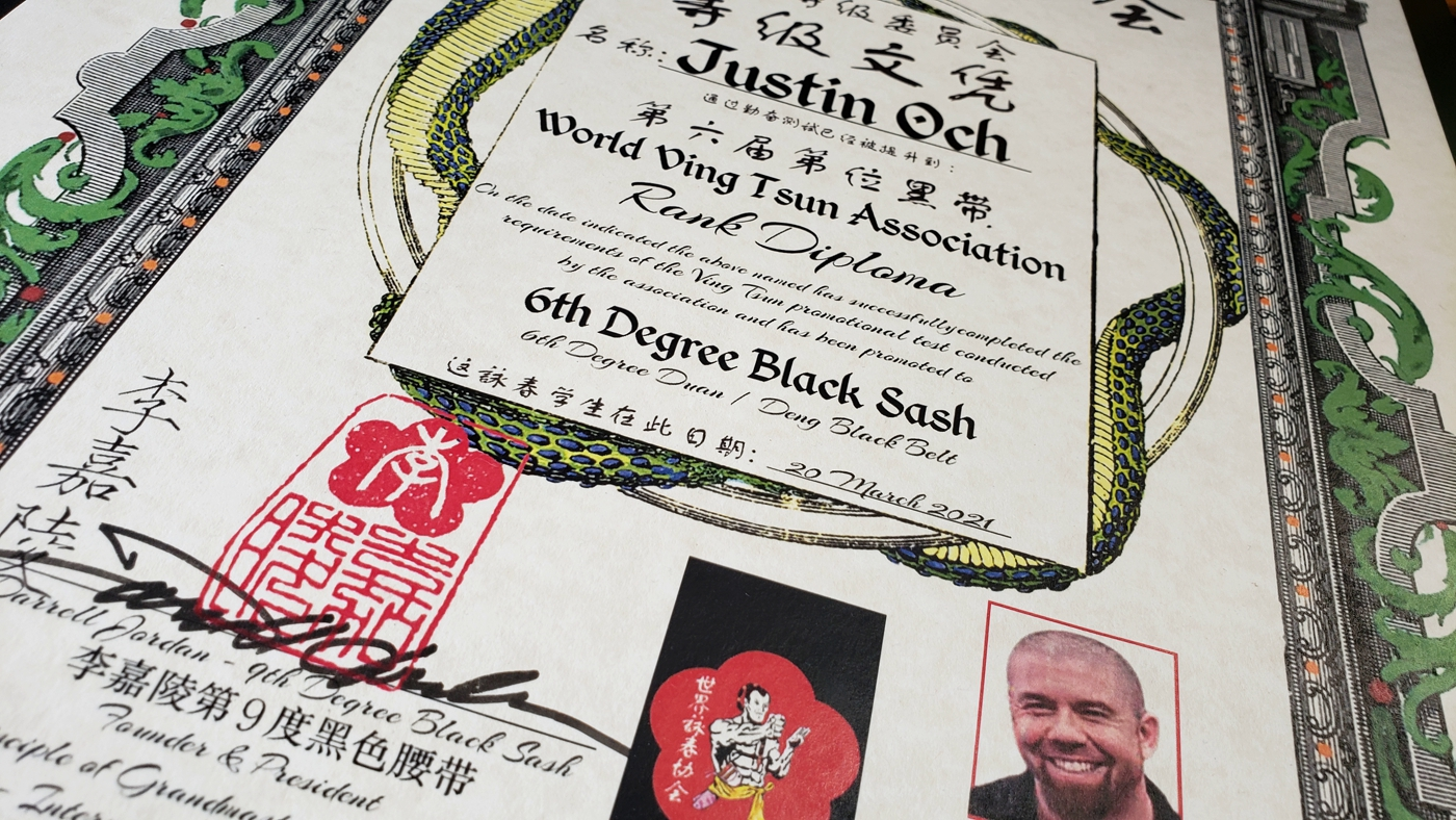 world ving tsun assocation, wvta, world ving tsun athletic assoicaiton, black sash, wing chun, kung fu, wing chun kung fu, instructor, sifu justin och, black sash wing chun,